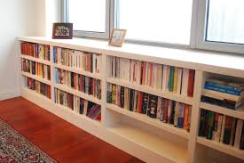 Built In Bookcase Enchanting Built In Bookcase Plans With Doors 142 Built In