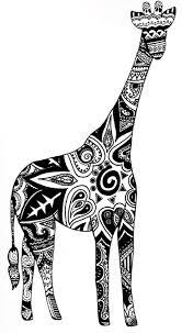 Doodling Giraffes