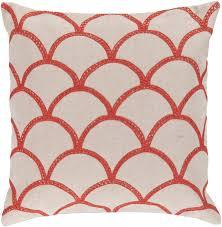 orange accent pillows. Surya Area Rugs: Accent Pillow: COM-009 Orange-Red/Peach Cream - Pillows Bedding Free Shipping At PowerSellerUSA.com Orange I