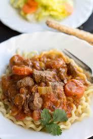 Lamb Stew Recipe Italian Lamb Stew On Pasta Errens Kitchen