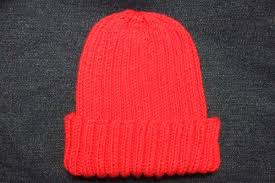 Child Knit Hat Pattern Impressive Basic Ribbed BabyChild Hat Baby Clothing Knitted My Patterns