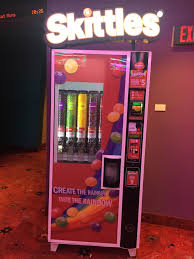 Create The Rainbow Skittles Vending Machine Stunning This Skittle Dispenser At My Movie Theater 48GAG