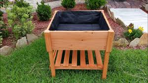 how to build a raised garden bed with legs. How To Build A Raised Garden Bed With Legs O