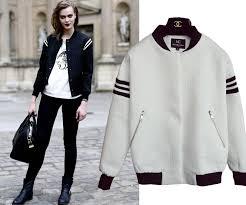new autumn women s varsity baseball uniform outerwear silm er jacket coats black white sports jackets biker leather jackets womens leather coats from