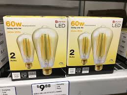 Great Value Cfl Light Bulbs What To Know Before You Buy Vintage Style Led Light Bulbs Cnet