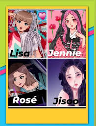 The group debuted in august 2016 with their single album square one. K Pop Freak Blackpink As Anime Characters My Facebook