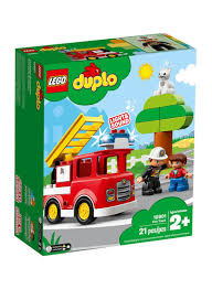 Lego Duplo Light And Sound Fire Truck Shop Lego Duplo Town Fire Truck 10901 Online In Dubai Abu Dhabi And All Uae