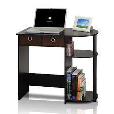 Furinno 11193EX/BK/BR Go Green Home Laptop Notebook Computer Desk/Table,  Espresso/Black/Brown