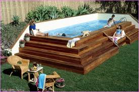 above ground pool with deck attached to house. Ideas For Above Ground Pool Decks With Deck Attached To House
