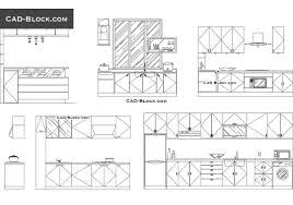 dining chair side elevation cad block. kitchen elevation - cad blocks, autocad file dining chair side cad block u