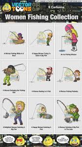 women fishing collection