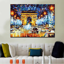 paris flight by leonid afremov easy diy paint by numbers kits owlcube canvas wall on flight canvas wall art with paris flight by leonid afremov easy diy paint by numbers kits
