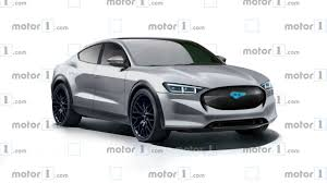 <b>New</b> Details Emerge <b>On</b> Ford Mustang-Based Electric <b>Crossover</b>