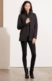 Lauren Ralph Lauren Diamond Quilted Jacket with Faux Leather Trim ... & Main Image - Lauren Ralph Lauren Diamond Quilted Jacket with Faux Leather  Trim (Regular & Adamdwight.com
