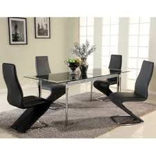 csey extendable gl dining table