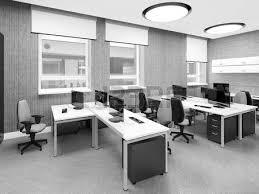 modern office furniture design. fine design office furniture empty modern interior work place 3d illustration  stock photo for modern office furniture design