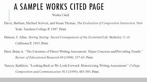 014 Mla Format Research Paper Works Museumlegs
