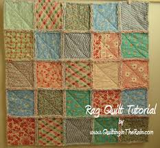 Rag Quilt | Quilting in the Rain & Quilt Tutorials and Fabric Creations - Quilting in the Rain - Rag Quilt Adamdwight.com