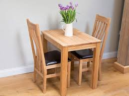 small solid oak dining table 2 seater kitchen table