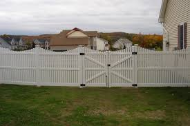 Painted Fences middlebury fence spaced board fencing picket fencing 8729 by xevi.us
