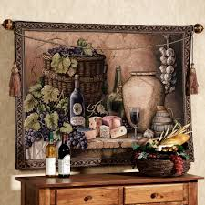 Grapes And Wine Kitchen Decor Wall Rugs Sale Rugs Ideas