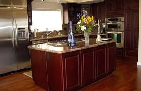 merlot kitchen style ideas medium size kitchen cabinets italian red creative modern cherry with dark wood floors