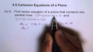 parallel planes equations. parallel planes equations