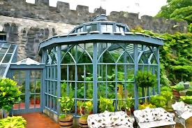 garden photograph glenveagh garden gazebo irish art by charlie brock