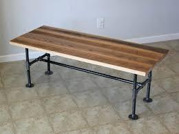 coffee table base plans industrial black custom reclaimed barn wood with pipe legs