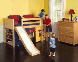 loft with slide. loft bed with slide - 2 s