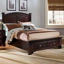 Low platform beds with storage Low Profile King Panel Storage Bed Belfort Furniture Vaughan Bassett Hamilton King Panel Storage Bed Belfort Furniture