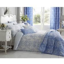 toile bedding sets duvet covers blue toile duvet single double king tj hughes
