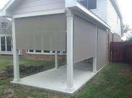 custom patio blinds. Exterior Blinds For Patio New Shades Or Ideas Sugar Land Outdoor Custom S