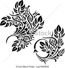 Design Patterns Interesting Floral Design Patterns Vector Illustration