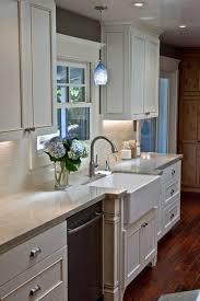 hanging light over kitchen sink