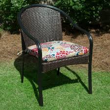 plantation patterns hampton bay lois fl outdoor chair cushion available at the home depot