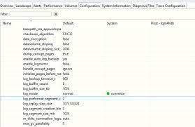 bp log how to enable log overwrite mode in sap hana using sap hana studio