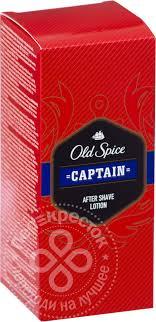 Отзывы о <b>Лосьоне после бритья Old</b> Spice Captain 100мл ...