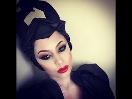 maleficent costume makeup tutorial