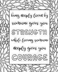 Coloring pages for adults abstract. Free Printable Love Quotes Coloring Sheets Sarah Titus From Homeless To 8 Figures