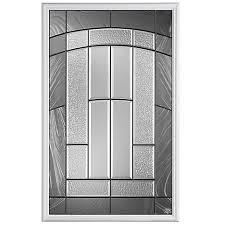 exterior door glass inserts home depot masonite croxley 22 inch x 36 1 2 lite insert