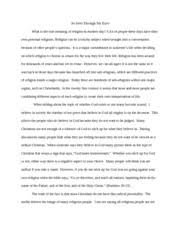 moral law vs civil law jonathan endrikat cal b essay how  7 pages what i believe in god
