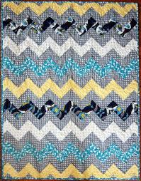 20+ Easy Chevron Quilt Patterns | FaveQuilts.com & Zig Zag Chevron Throw Quilt Adamdwight.com