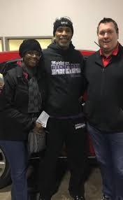 Roger Johnson- Makeover Car Winner - Goodwill Cincinnati