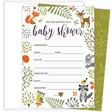 Baby Shower Invitations Amazon Com