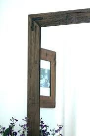 decorative wall mirrors wood frame decorative wood framed mirrors wall mirrors wood wall mirror rustic wall