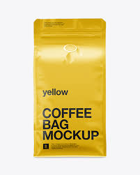Use the most unique collection of mockup templates to create stunning mockups online within seconds. Coffee Bag Mockup Front View Packaging Mockups Mockups Meaning In Telugu