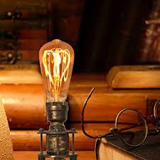 Decoluce <b>Vintage</b> Industrial Table Pipe <b>Desk Lamp Retro</b> Loft Rustic ...