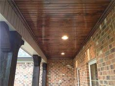 Covered Patio with Modern Fireplace   Transitional   Deck patio furthermore 48 best Deck Room images on Pinterest moreover  further  as well  together with 3 Ways to Create Waterproof Dry Space Under a Deck furthermore Best 25  Cedar tongue and groove ideas on Pinterest   Wood moreover  furthermore How To Install A Wood Plank Ceiling   We  Planking and Porches furthermore Wood Plank Ceiling Design Ideas together with . on deck plank ceiling