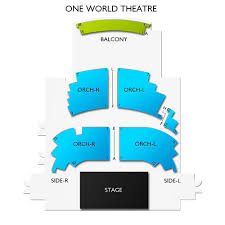 One World Theater Seating Chart One World Theater Seating 2019